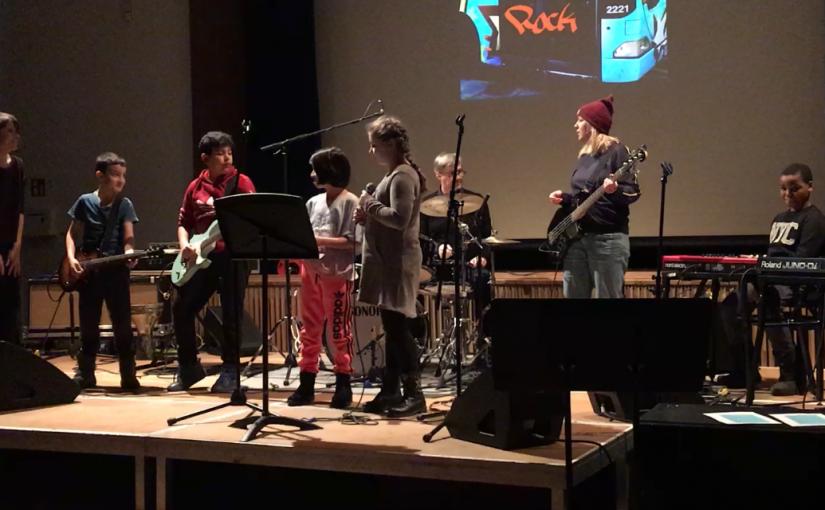 """School of Rock – Rahewinkel Kids beim """"Jamliner"""""""
